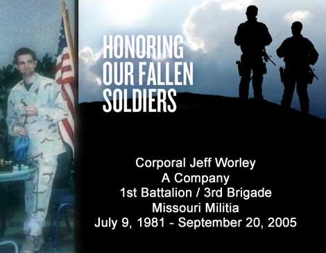 Corporal Jeff Worley - Missouri Militia