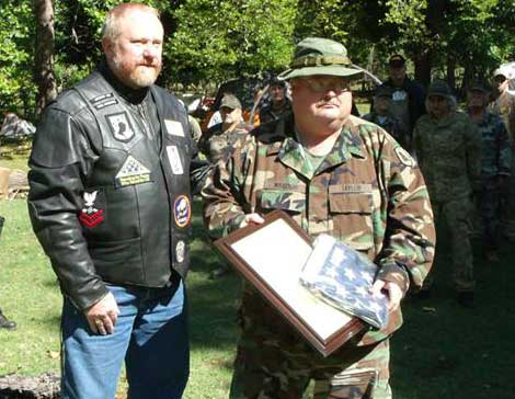 Major Edward Taylor - Missouri Militia